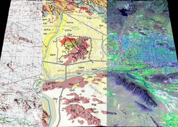 3d Map Of Arizona.Arizona Topogeosat 3d