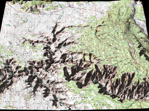 Arizona Topography 3D