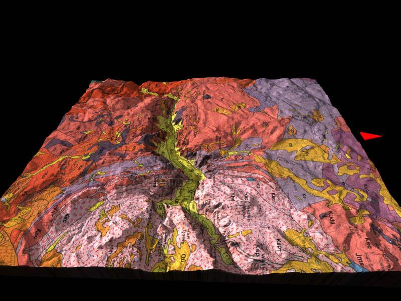 3d geologic map gallery